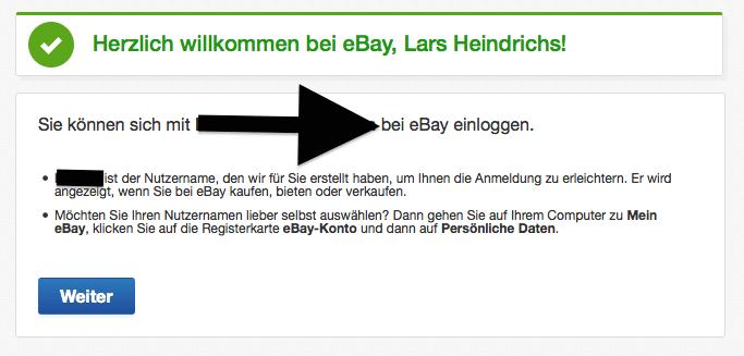 Anmeldung Ebay Benutzernamen Gasgrill
